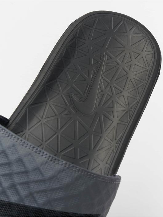 Nike Badesko/sandaler Benassi Solarsoft grå