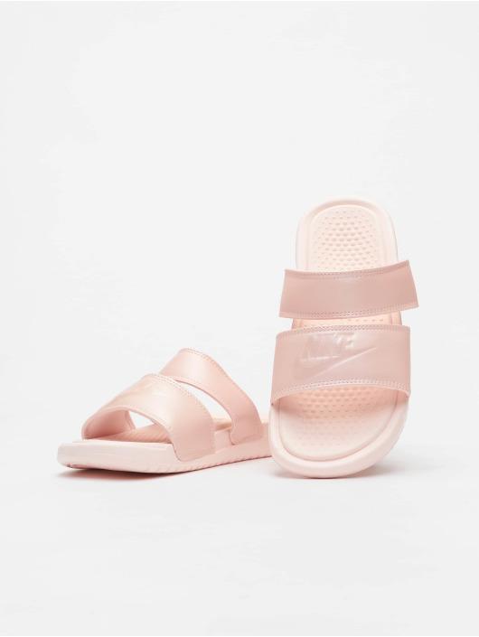 Nike Badesko/sandaler Benassi Duo Ultra Slide lyserosa