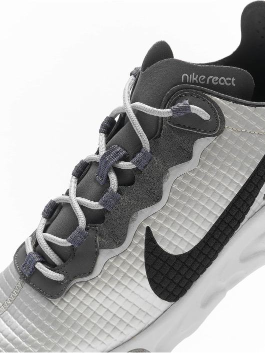 Nike Baskets React Element 55 Premium argent