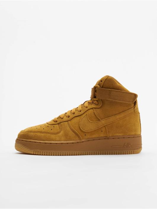 meilleur service 097bd 89355 Nike Air Force 1 High LV8 (GS) Sneakers Wheat/Wheat/Gum Light Brown