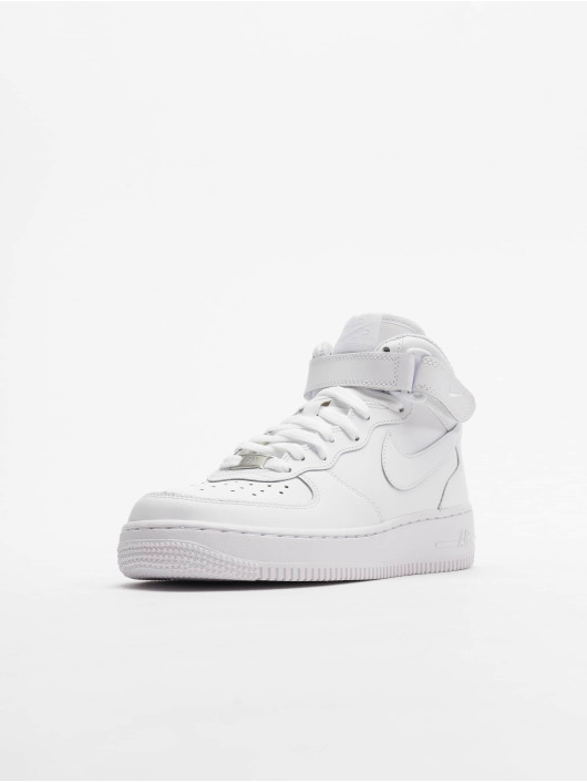 Nike Baskets Air Force 1 Mid Kids Basketball blanc