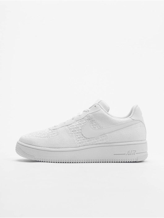Nike Baskets Air Force 1 Flyknit 2.0 (GS) blanc