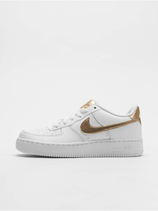5b92edc6d84 ... Nike Baskets Air Force 1 EP (GS) blanc ...