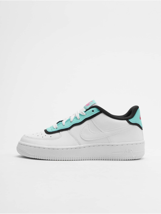 new arrival 9b523 fc544 ... Nike Baskets Air Force 1 LV8 1 DBL GS blanc ...