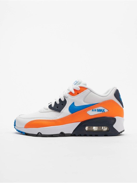 grand choix de 5fc71 5e83f Nike Air Max 90 LTR (GS) Sneakers White/Photo Blue/Total Orange