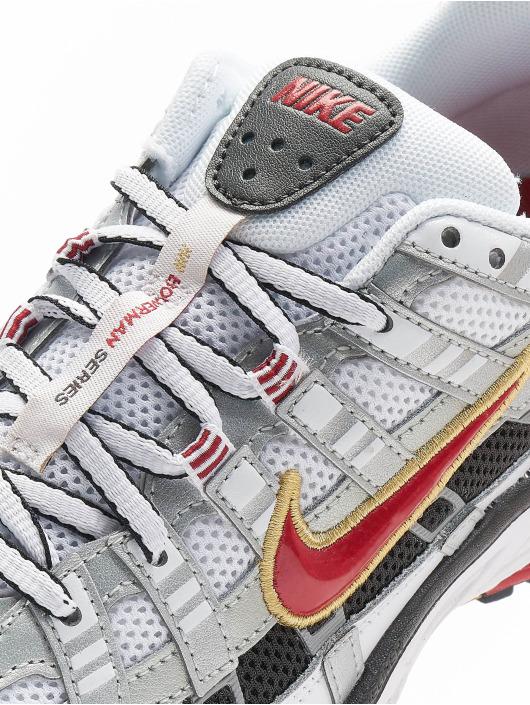 Nike Baskets P 6000 blanc