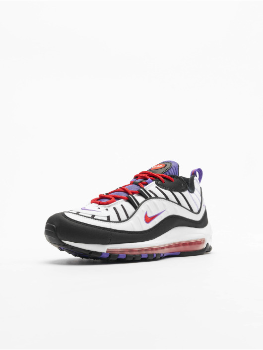 Nike Air Max 98 Sneakers WhiteBlackPsychic Purple