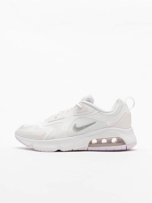 Nike Air Max 200 Sneakers WhiteBarely GrapeMetallic Silvern