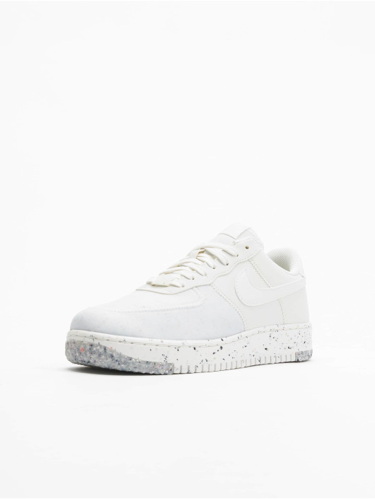 Nike Baskets W Air Force 1 Crater blanc