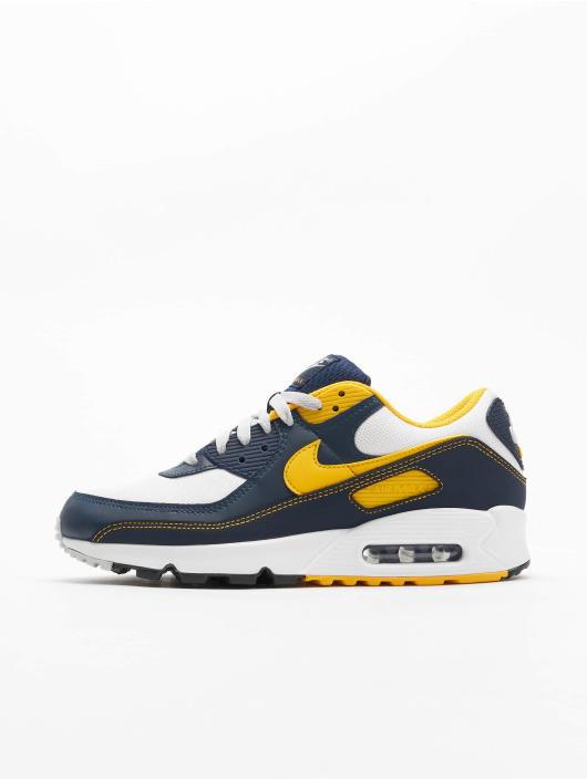 Nike Air Max 90 Sneakers White/University Golden/Midnight Navy