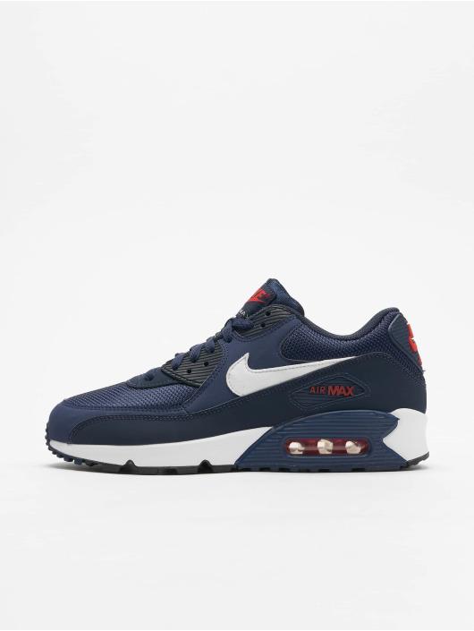 acheter en ligne 064a7 b1f40 Nike Air Max '90 Essential Sneakers Midnight Navy/White/University Red