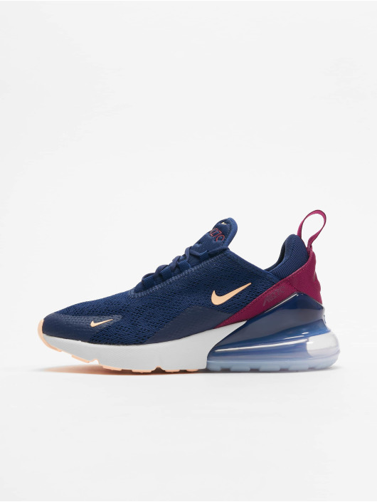 chaussures de sport 7a3ad cb191 Nike Air Max 270 Sneakers Blue Void/Crimson Tint/True Berry
