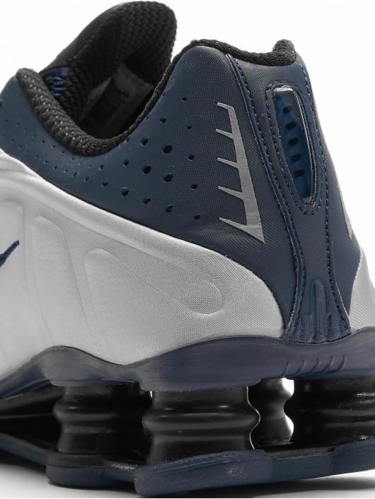 Nike Baskets Shox R4 bleu