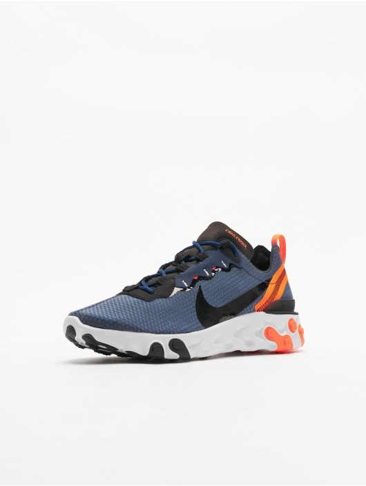Nike React Element 55 SE Sneakers Midnight NavyBlackTotal Orange