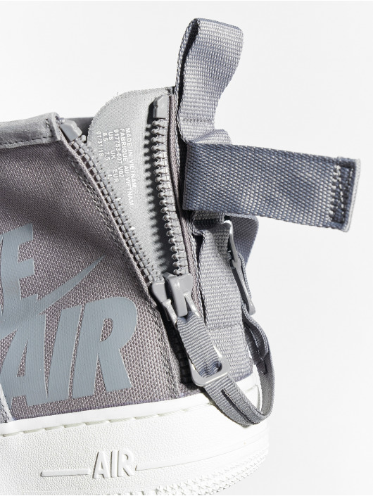 Nike Baskets Sf Air Force 1 Mid gris