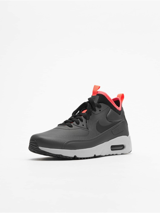 Nike Baskets Air Max 90 Ultra Mid gris