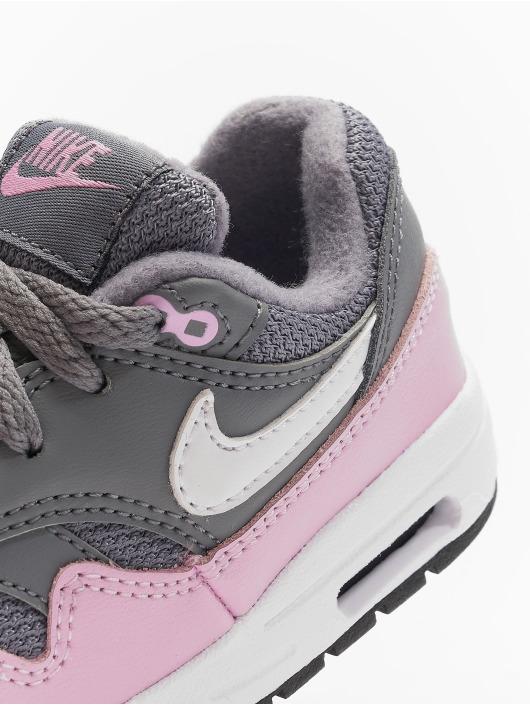 Nike Baskets Air Max 1 TD gris