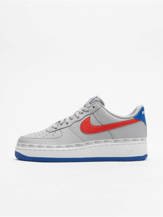 design intemporel 134b1 1108e Nike Air Force 1 `07 LV8 Sneakers Wolf Grey/Habanero Red/Game Royal
