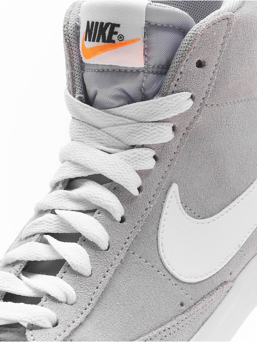 Nike Baskets Mid '77 Suede (GS) gris