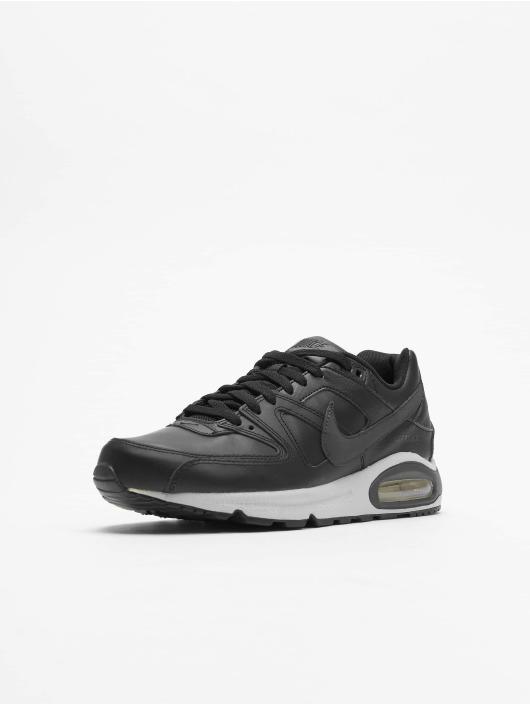 plus de photos 73fb2 0b1c9 Nike Air Max Command Leather Sneakers Black
