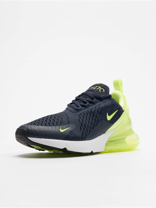 new images of hot new products best authentic Nike Air Max 270 Sneakers Obsidian/Volt Glow/Volt Glow/Black