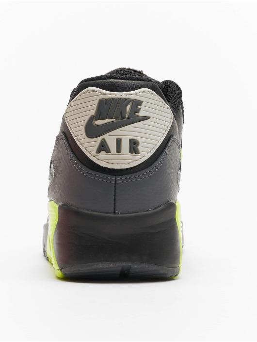 Nike Baskets Air Max 90 Leather (GS) noir