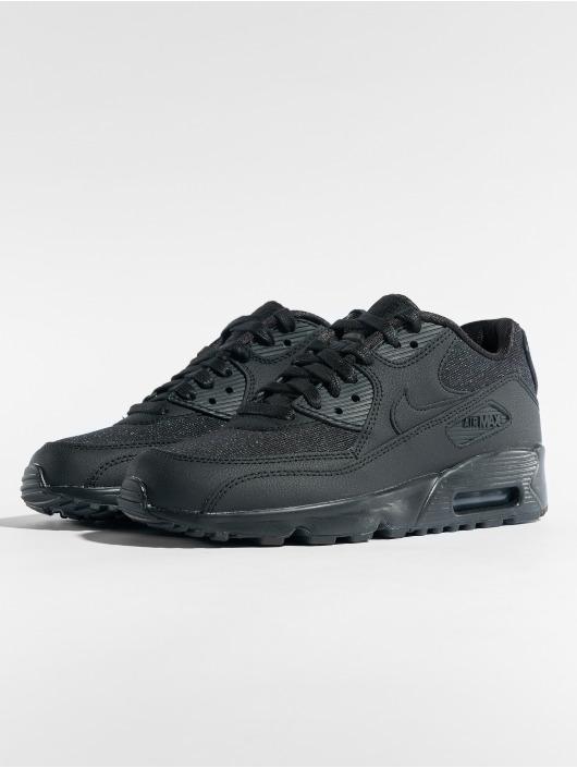 ... Nike Baskets Air Max 90 SE Mesh (GS) noir ...