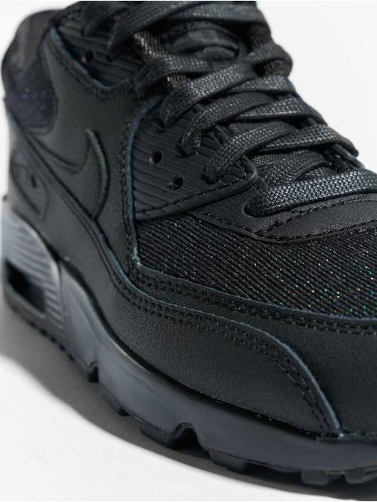 Nike Baskets Air Max 90 SE Mesh (GS) noir