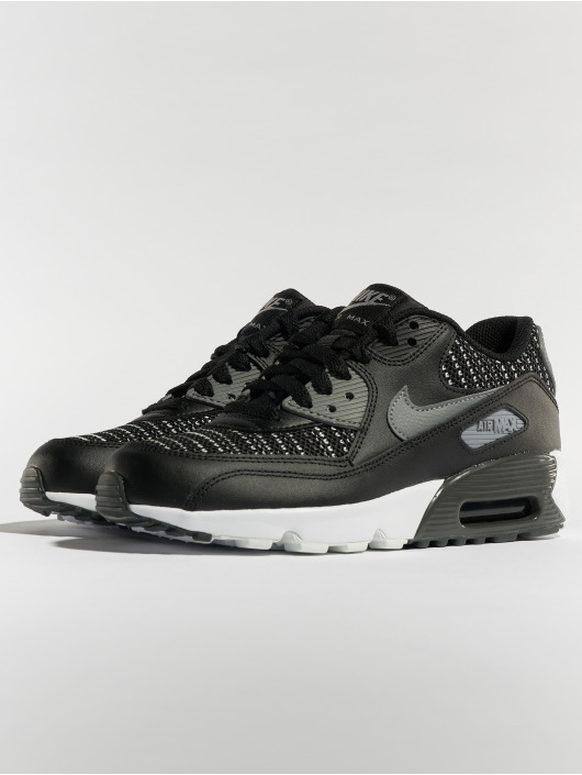... Nike Baskets Air Max 90 Mesh SE (GS) noir ...