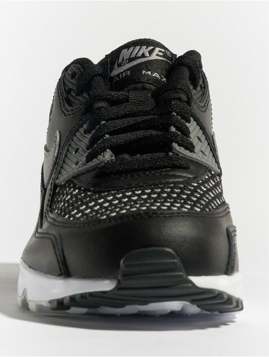 Nike Baskets Air Max 90 Mesh SE (GS) noir