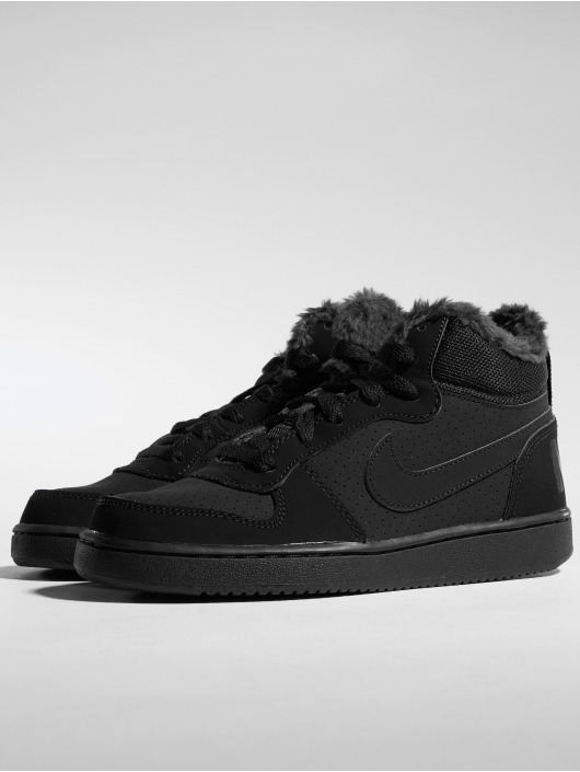 separation shoes 5a363 cb275 ... Nike Baskets Court Borough Mid Winter noir ...