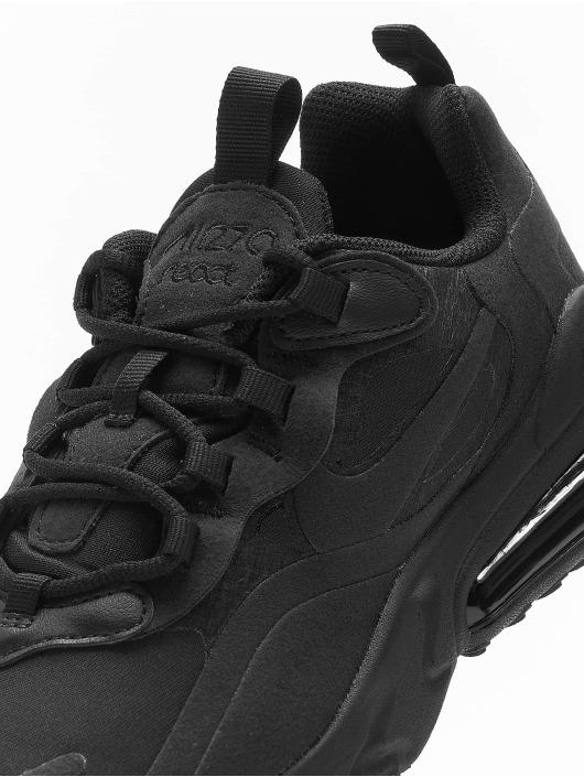 Nike Baskets Air Max 270 React (GS) noir