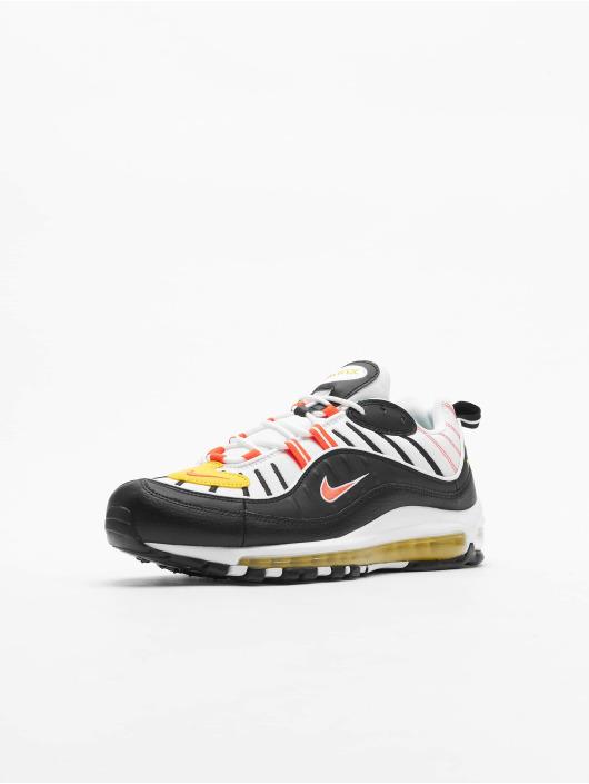 Nike Air Max 98 Sneakers Black/Bright Crimson/White/Chrome Yellow