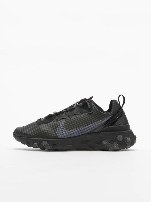 Nike Baskets React Element 55 Premium noir