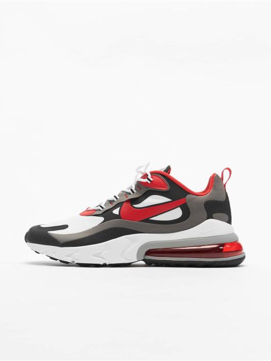 Nike Air Max 270 React Sneakers BlackUniversity RedWhiteIron Grey