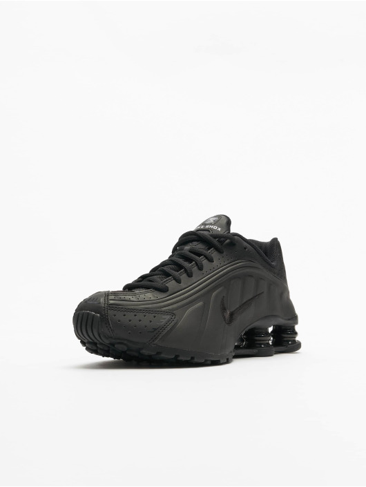 Nike Baskets Shox R4 (GS) noir
