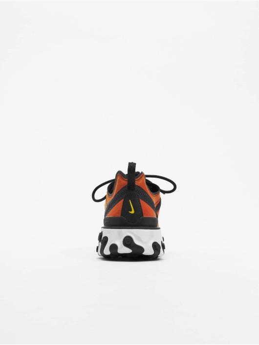 Nike Baskets React Element 55 Premium SU19 orange