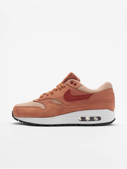 info pour e2318 03a7a Nike Air Max 1 Sneakers Terra Blush/Dune Red-Bio Beige-Black