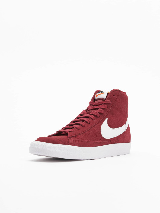 Nike Baskets Mid '77 Suede rouge