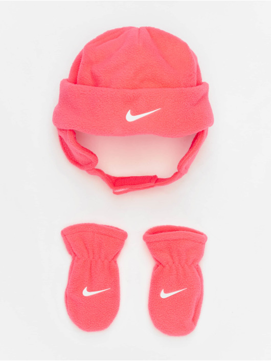 Nike Beanie Swoosh Baby Fleece pink