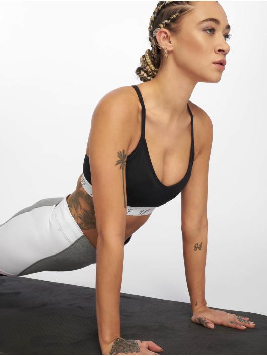 Nike Biustonosz sportowy Nike Indy czarny
