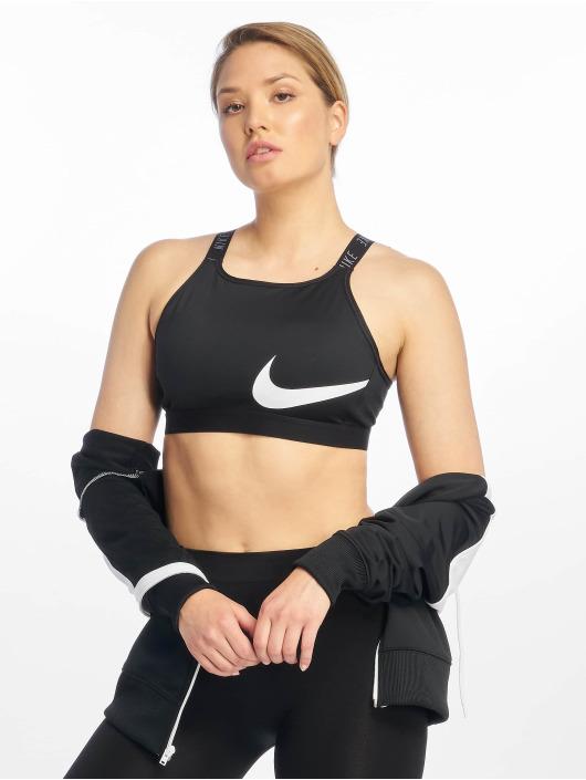 Nike Biustonosz sportowy Classic Logo Bra 2 czarny
