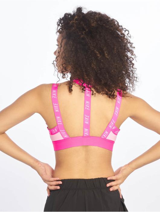 Nike Biustonosz sportowy Indy Logo pink