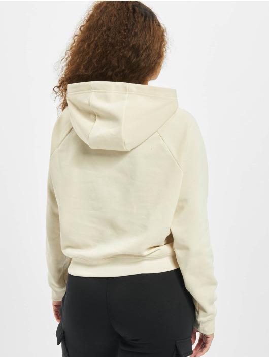 Nike Bluzy z kapturem Swoosh Fleece bezowy