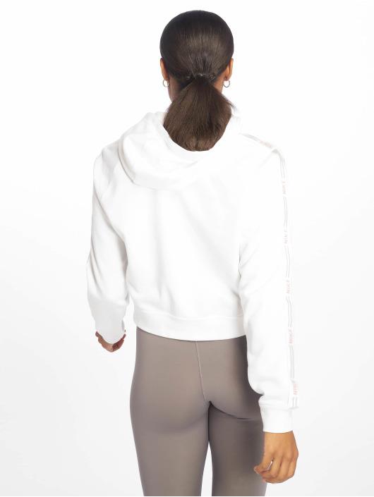 Nike Bluzy z kapturem Sportswear bialy