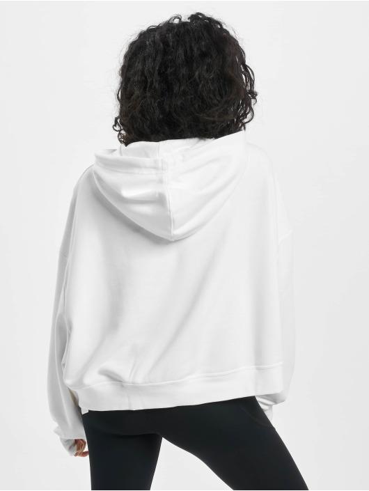 Nike Bluzy z kapturem Icon Fleece bialy
