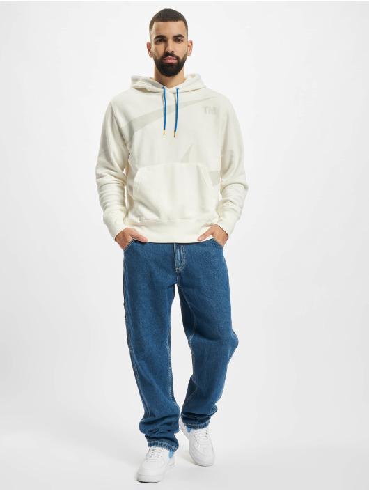 Nike Bluzy z kapturem Swoosh bialy