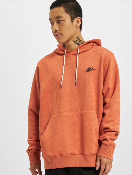 Nike Bluzy z kapturem Revival brazowy