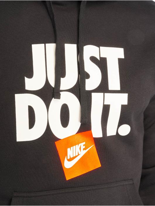 Nike Bluzy z kapturem Sportswear JDO czarny