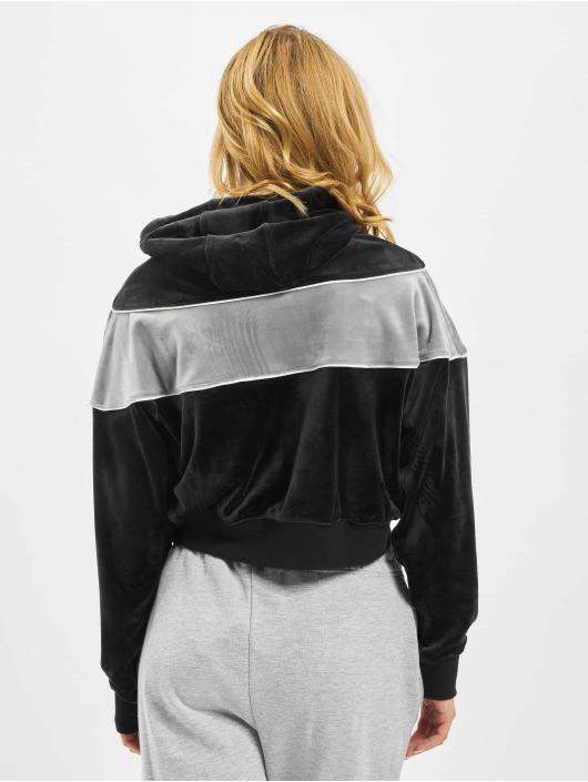 Nike Bluzy z kapturem Heritage Plush czarny